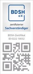 BDSH Personen Zertifikat Yasin Avan